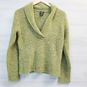 {S} Eileen Fisher Wool & Cashmere Pullover Sweater